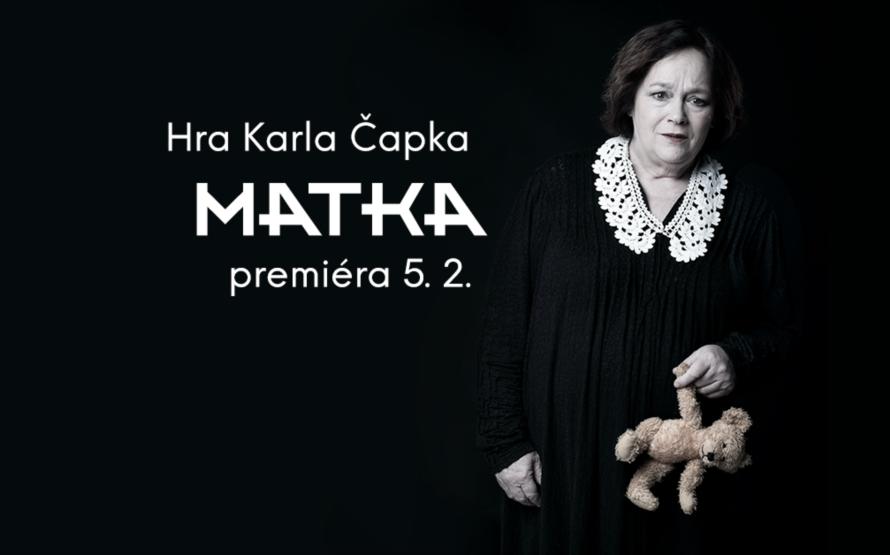 "Vršovické divadlo ""provokuje"" Čapkovo Matkou"