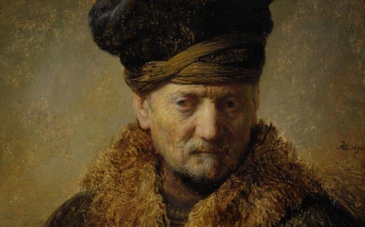 Národní galerie vystavuje Rembrandta
