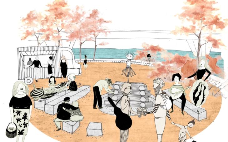 Holešovice se dočkají nového parku u vody