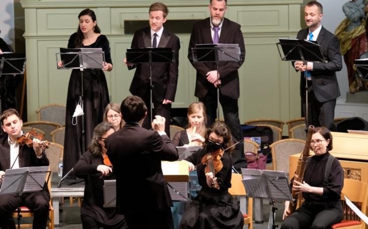 Barokní soubor Collegium 1704 spustil novou on-line platformu